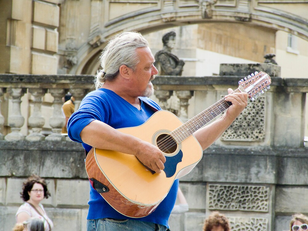 West Country Busker by Karl Gookey