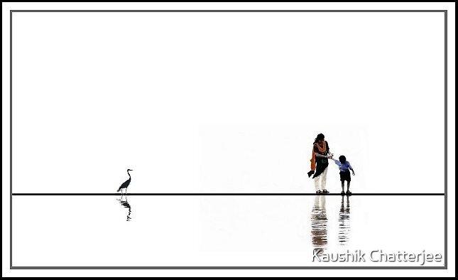 Mother & Child by Kaushik Chatterjee