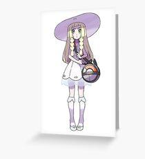 Pokemon Sun & Moon - Lillie Greeting Card