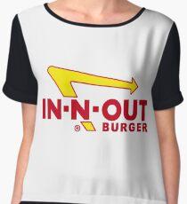 In Out Burger Merchandise Women's Chiffon Top