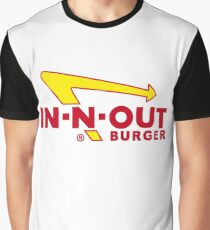 In Out Burger Merchandise Graphic T-Shirt