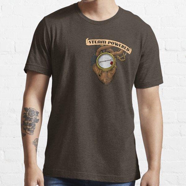 Steam Powered Heart - Steampunk t-shirts etc. Essential T-Shirt