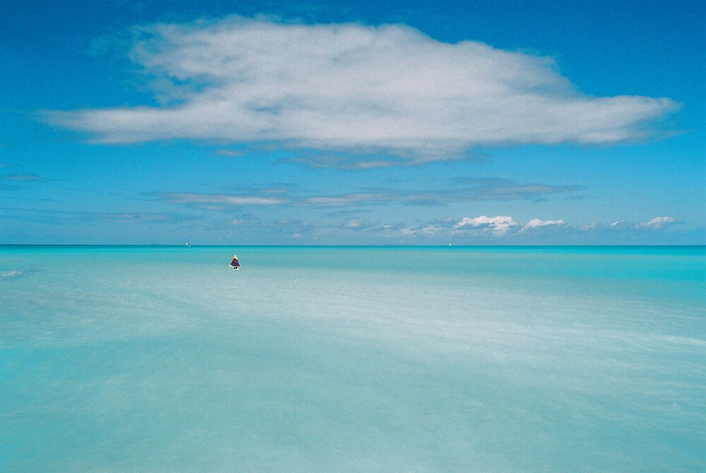Lost in a big blue ocean by Brian Robertson