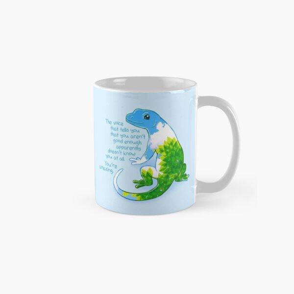"""You're Amazing"" Summer Leaves Gecko Classic Mug"