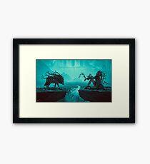 Mother Wolf Framed Print