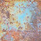 sky blue and rust by Boxzero
