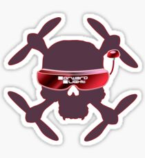 FPV Skull and Goggles Sticker
