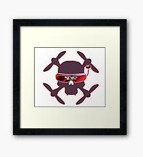 FPV Skull and Goggles Framed Print