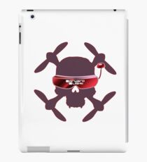 FPV Skull and Goggles iPad Case/Skin