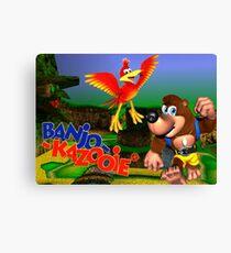 N64 Banjo-Kazooie Canvas Print