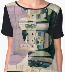 Converge abstract art Chiffon Top