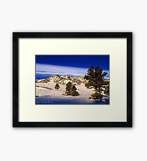 A Morning In The American West Framed Print