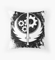 Brother hood of steel T-shirt Throw Pillow