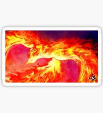 Fire Bird Sticker