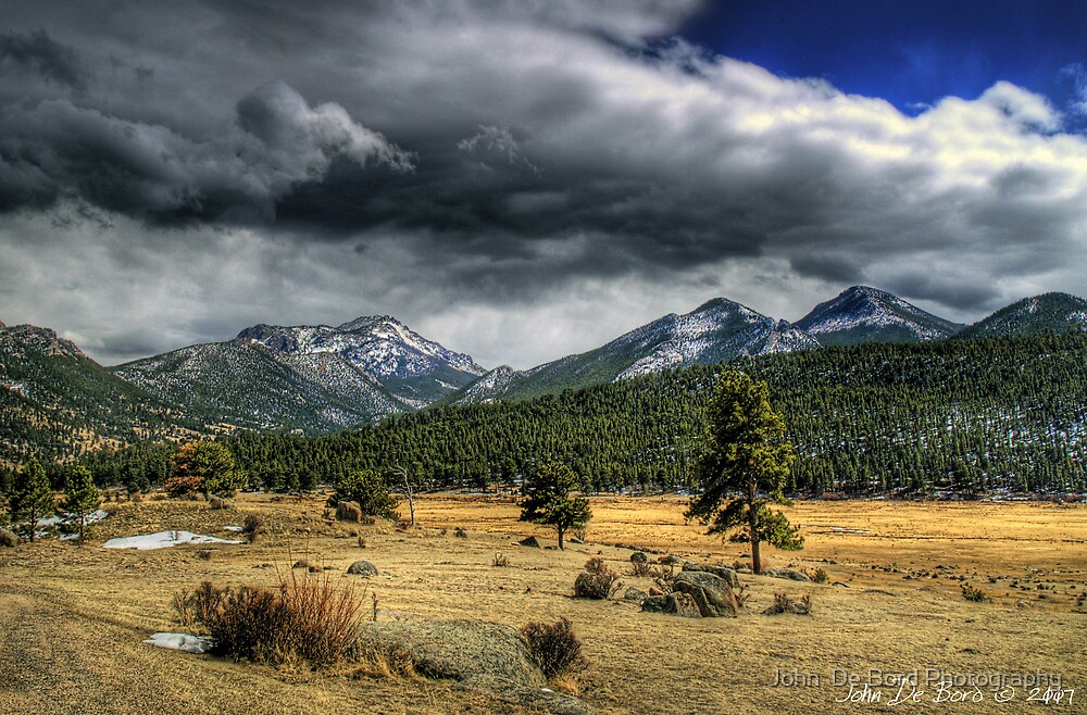 The Open Range by John  De Bord Photography
