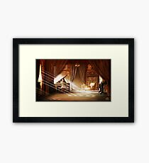 Shining Piano Framed Print