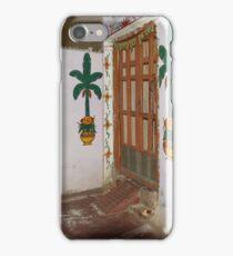 Doorkeepers Wall Painting Varanasi iPhone Case/Skin