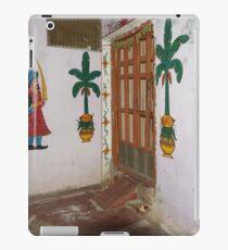 Doorkeepers Wall Painting Varanasi iPad Case/Skin