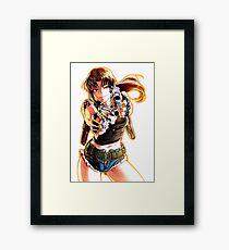 Revy Framed Print