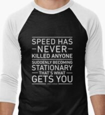 Speed Has Never Killed Anyone - Jeremy Clarkson Men's Baseball ¾ T-Shirt