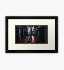 Sci Fi Canoe Framed Print