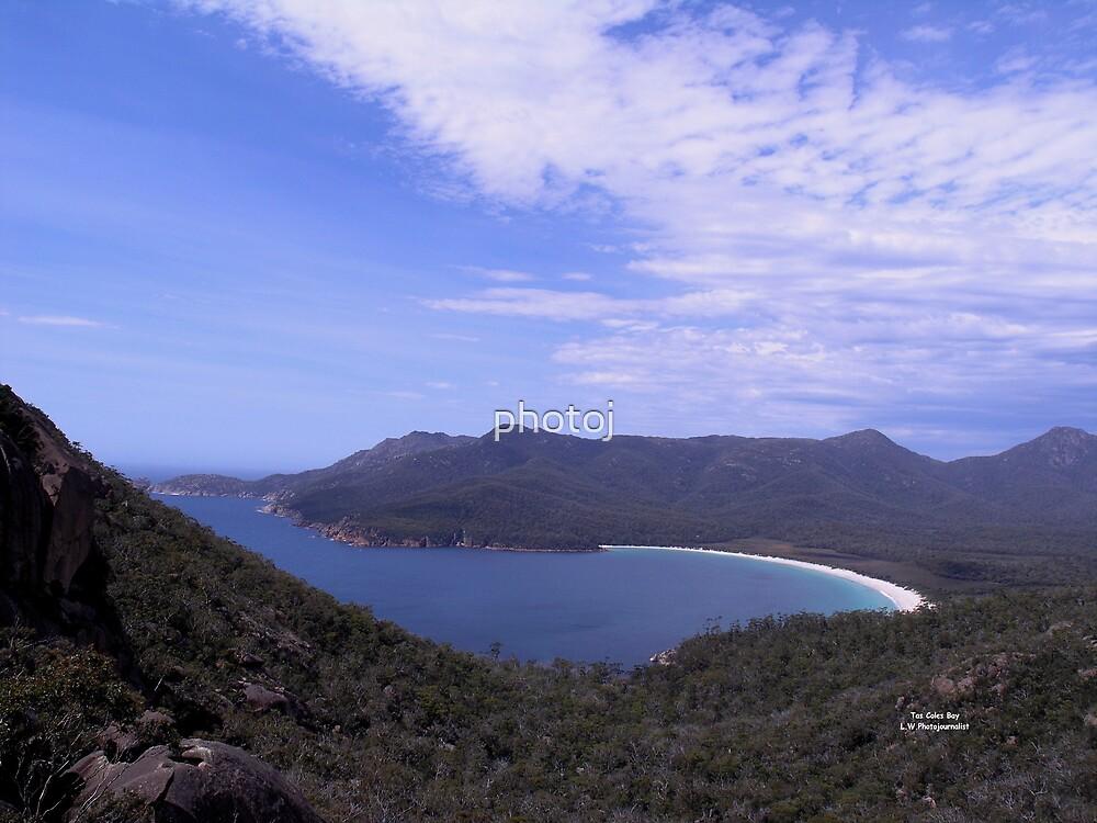 Tasmania - Wine Glass Bay by photoj