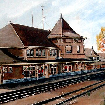 Saskatoon Train Station by RuthPalmer