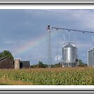 Rainbow O`er the Farmland by Starr1949