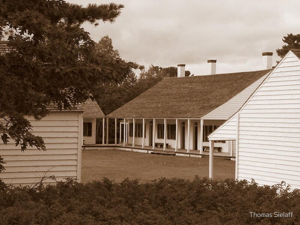 Inside Fort Wilkins 2. by Thomas Sielaff