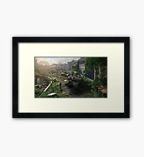 Desertion Framed Print