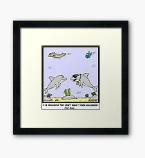 Cool versus Smart Framed Print