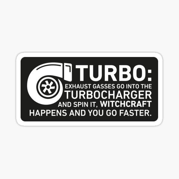 Turbo Witchcraft - Jeremy Clarkson Sticker