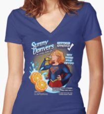 Sunny Danvers Women's Fitted V-Neck T-Shirt