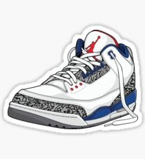 "Air Jordan 3 (III) ""TRUE BLUE"" Sticker"