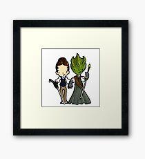 Vastra and Jenny forever Framed Print
