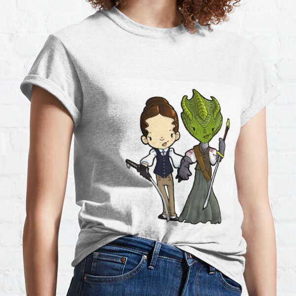 Vastra and Jenny forever Classic T-Shirt