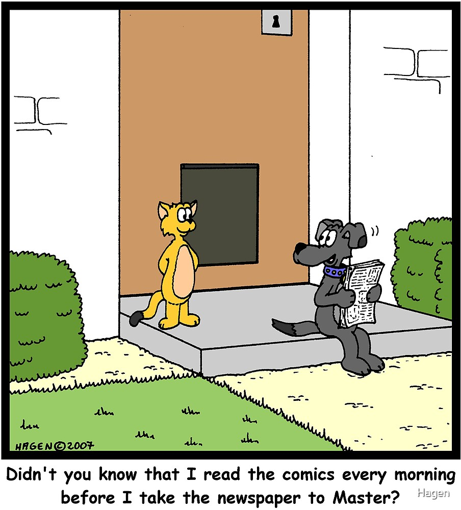 Newspaper Comics by Hagen