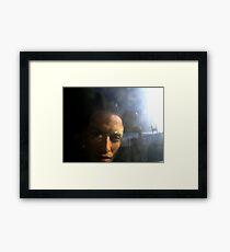 Materialized Framed Print