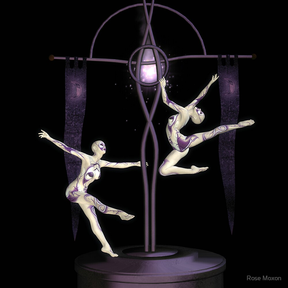 Sky Dancers by Rose Moxon