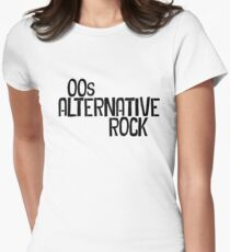 00s Alternative Rock Women's Fitted T-Shirt