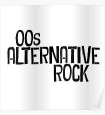 00s Alternative Rock Poster