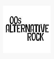 00s Alternative Rock Photographic Print