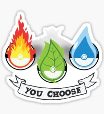 Pokemon - You Choose Sticker