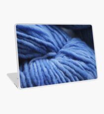 Amazing Blue Yarn Laptop Skin