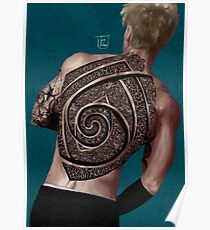 give your back to me - tattoo version  Poster