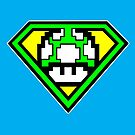 Super 1-up Mushroom by cudatron