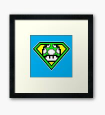 Super 1-up Mushroom Framed Print