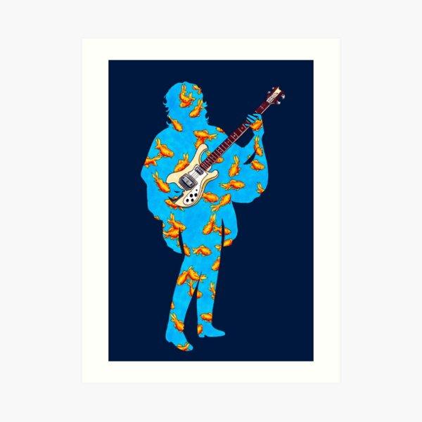 Chris Squire in Goldfish Art Print