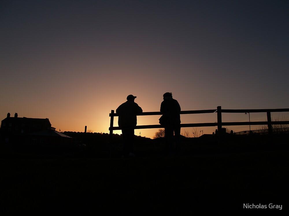 Brothers at Dawn by Nicholas Gray