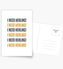 i need healing! Postcards